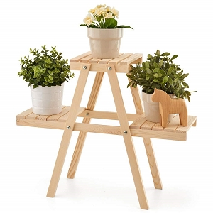 3 Shelve Indoor & Outdoor Folding Garden Stand