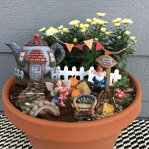 Fairy Garden Gnome Accessories Kit Set of 6