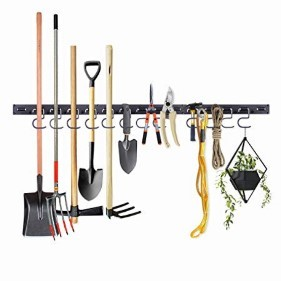 Wall Storage Holders for Garden Tools