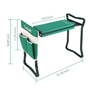 Dual Seat and Kneeler for Gardening