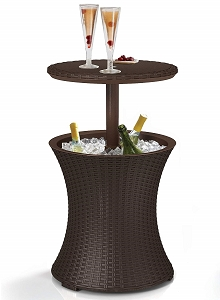 7.5-Gal Patio Cooler Table