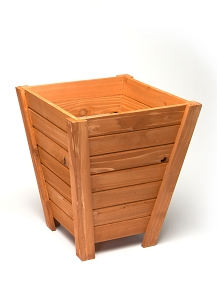 Tall Wooden Planter - Small 15